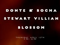 Donte & Bocha with Stewart Villian and Blossom