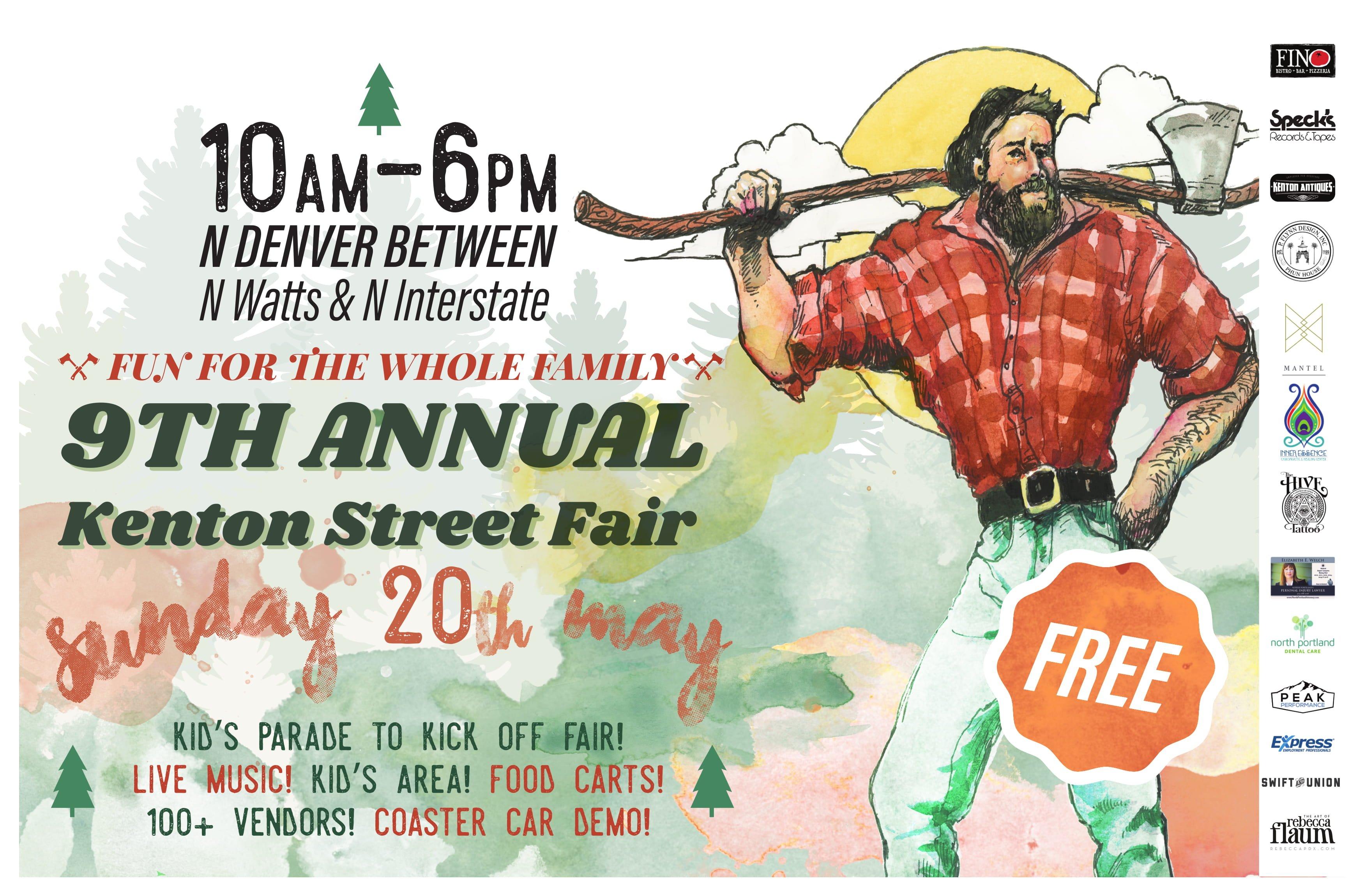 2018 North Portland Kenton Street Fair   3 Music Stages, 80+ Vendors ...