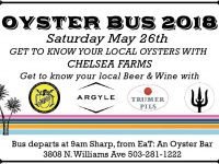 Oyster Bus 2018! with Chelsea Farms