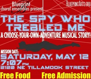 Blueprint choral ensemble presents the spy who trebled me free a the spy who trebled me may 12 2018 707 pm free all ages more info blueprintarts blueprint choral ensemble concerts malvernweather Image collections