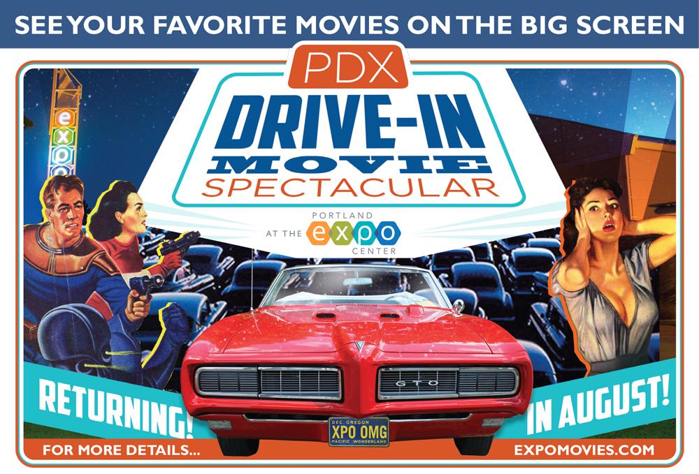 Drive in movie portland oregon
