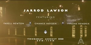 "August 23 @ No Vacancy Lounge - Jarrod Lawson tantalizes crowds with his vocals and piano performances. Whether he sings and plays funk, folk, R&B, rock or jazz—as has been said many times—""everything he touches turns to soul."""