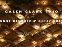 GALEN CLARK TRIO WITH JIMMY RUSSEL
