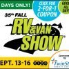 2018 fall van & rv show