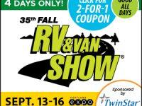 2018 fall van & rv show
