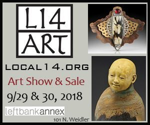 LOCAL 14 is one of the premiere art shows in the Portland area. It draws artists from Oregon and the NW, juried for their high quality work and unique styles. The show is comprised of member and guest artists- the art is fresh and balanced