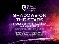 Oregon Repertory Singers: Shadows on the Stars