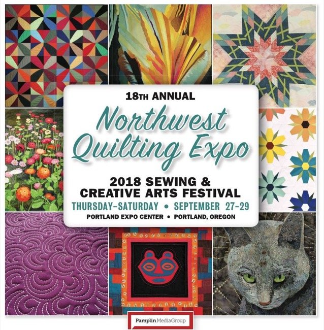 2018 Northwest Quilting Expo Portland Expo Center Instructors