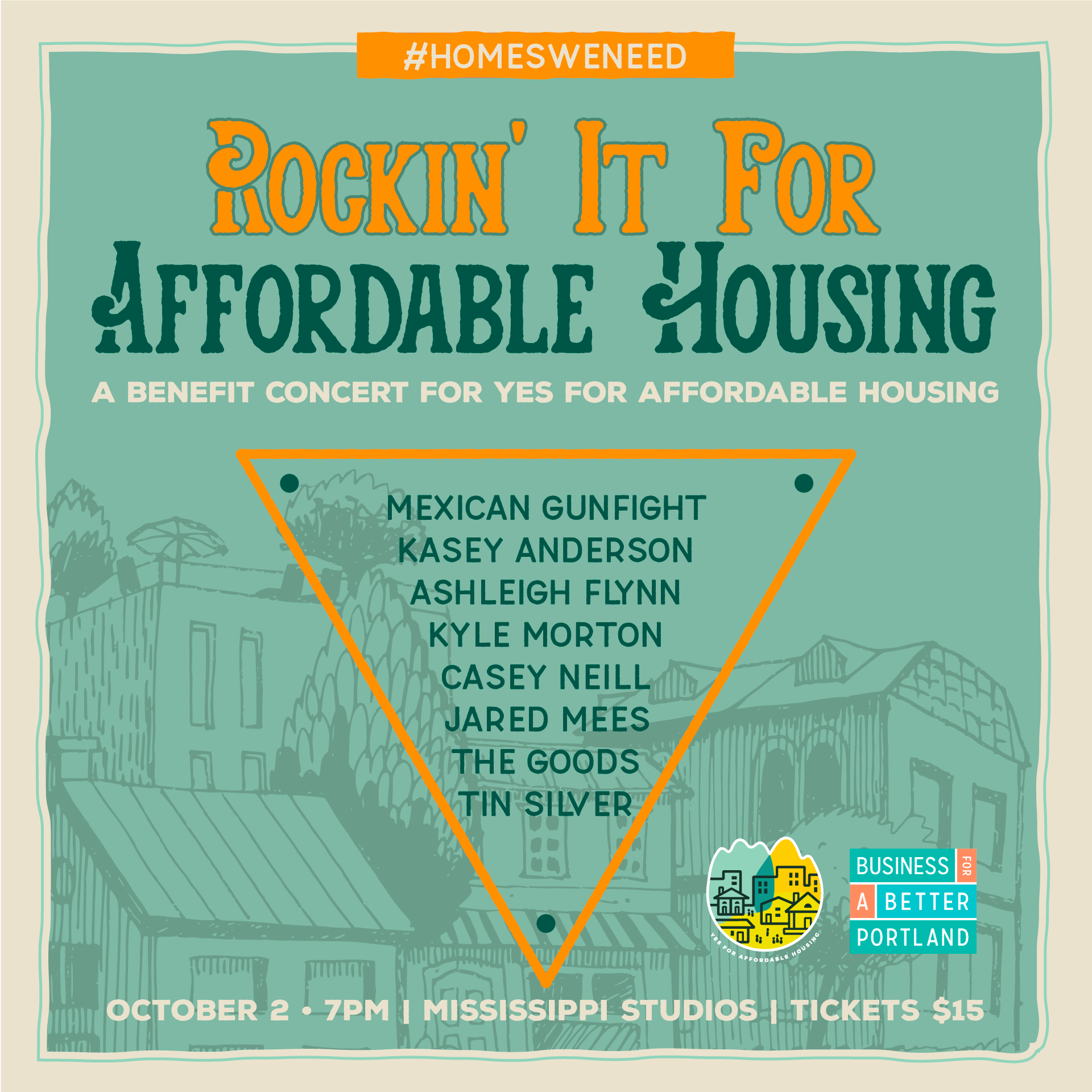 Portland Rockin' It For Affordable Housing Benefit Concert