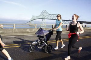 October 14 in Astoria - Experience the glory of the Columbia River as you trek across the Astoria-Megler Bridge during this unique opportunity to walk/run across the bridge! This 10k offers a scenic adventure on a fairly flat road with one STEEP incline to the peak of the bridge. It is the longest continuous truss bridge in North America.