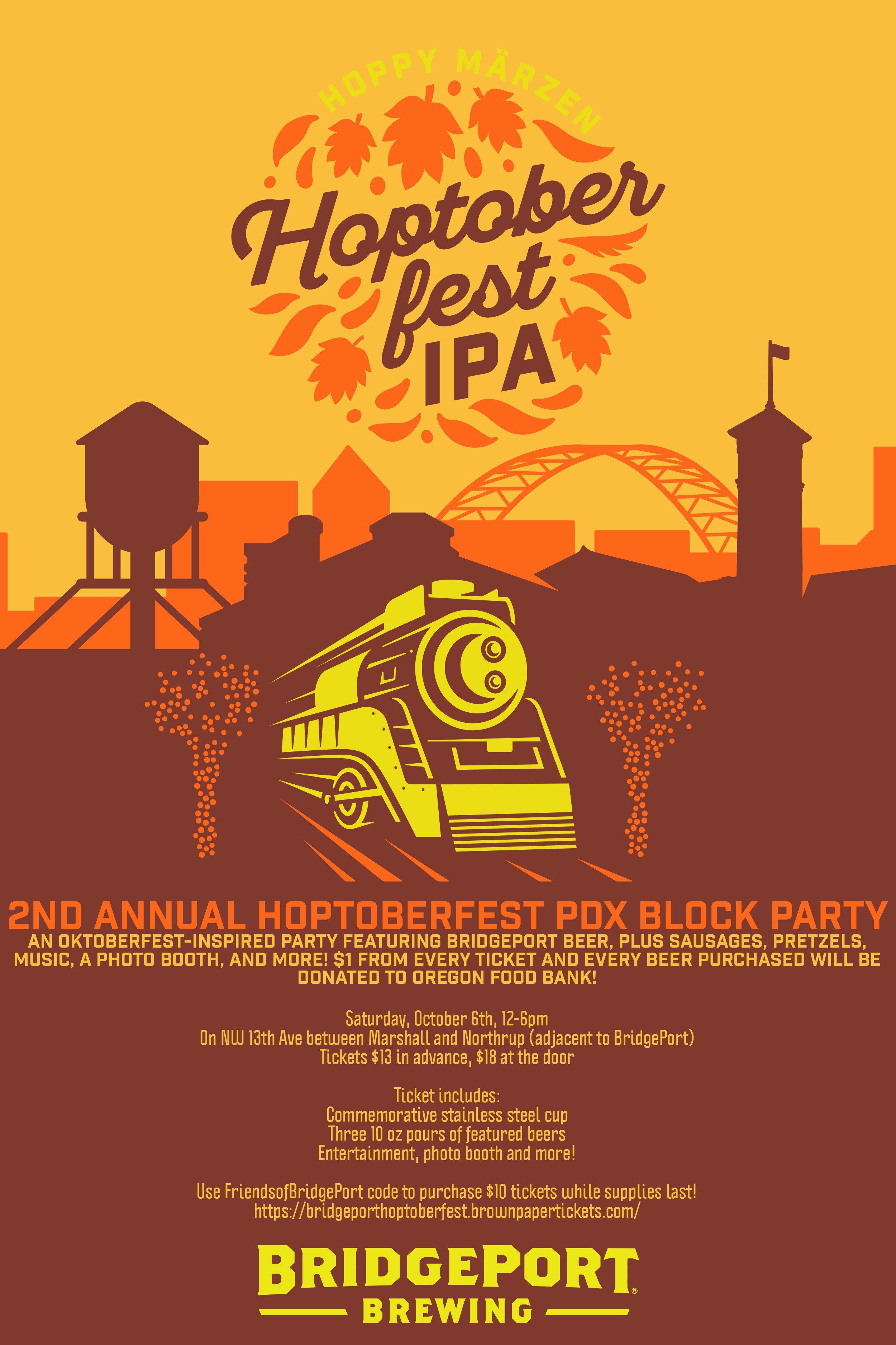 2018 hoptoberfest block party @ bridgeport brewing | oktoberfest