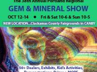 Portland Regional Gem & Mineral Show Association 2018