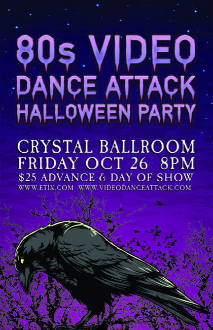 Video Dance Attack's 2-Floor Halloween Party! October 26, 2018 8p.m.   $25   21+. Advance Tickets On Sale Now! —-> http://bit.ly/VDAHalloween