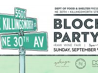30th and killingsworth block party