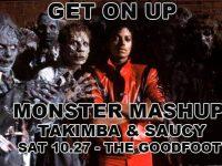 Get On Up Monster Mashup