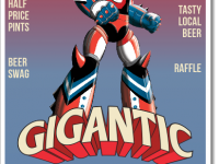Tap Takeover Featuring Gigantic Brewing