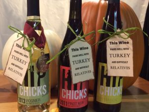 Hip Chicks Thanksgiving Wine Tasting