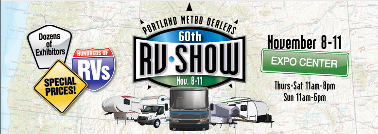 Portland Metro Rv Dealers Fall Rv Show Of Shows