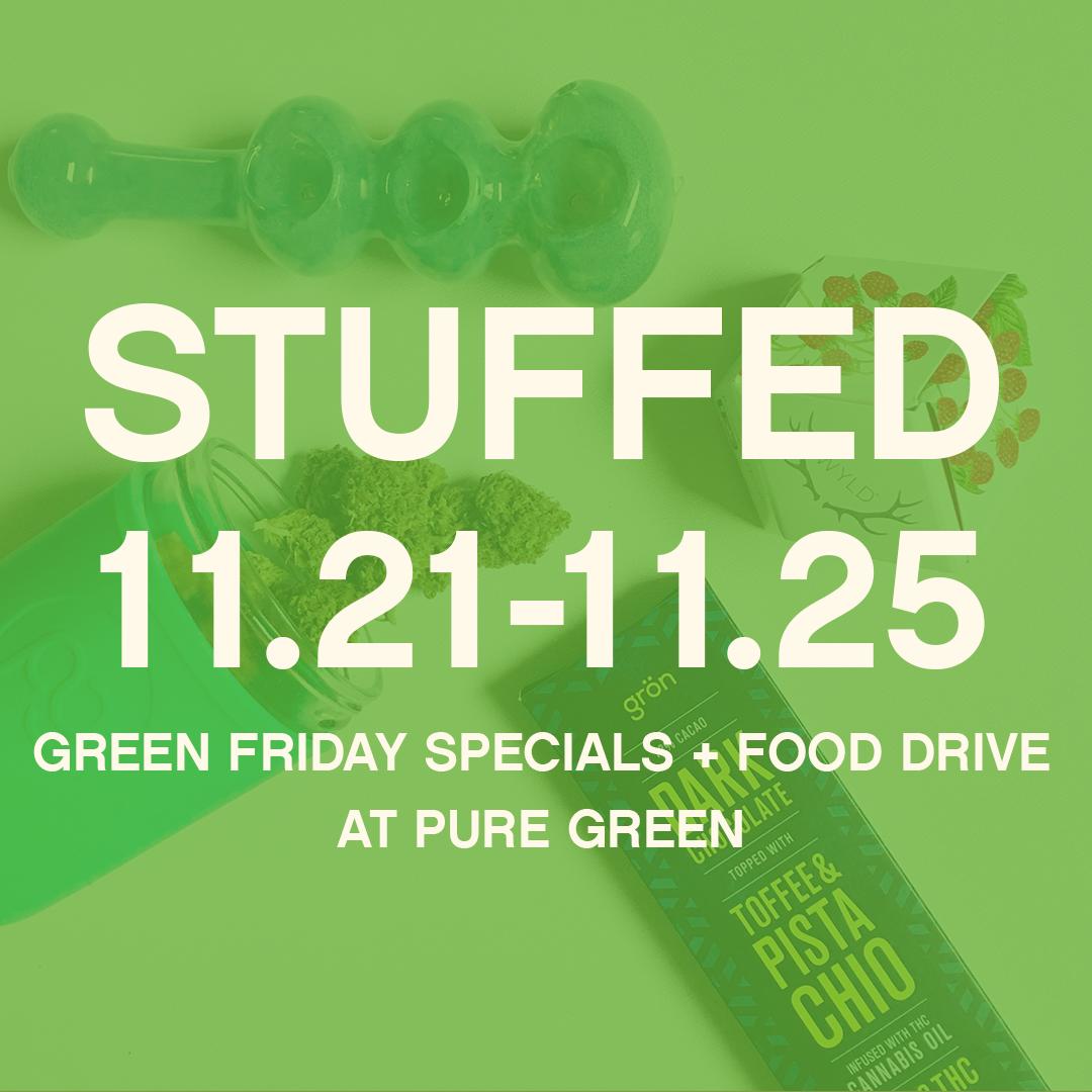 Stuffed! Portland 2018 Thanksgiving Weekend Specials @ Pure Green ...