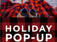 Holiday Pop-up Email Header
