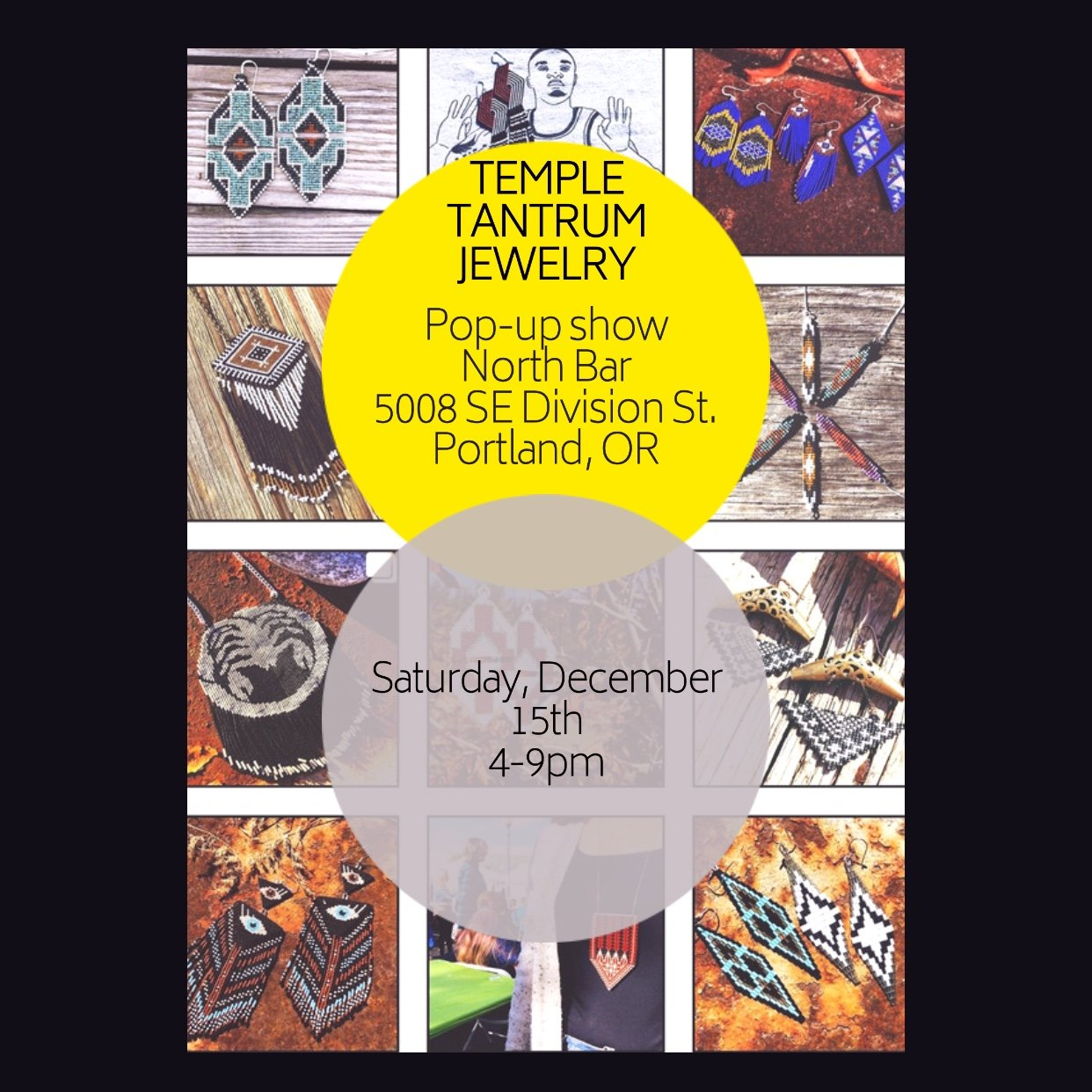 Temple Tantrum Jewelry Pop-up Shop @ North Bar | 2018 Holiday ...