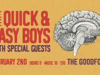 The Quick and Easy Boys @ The Goodfoot