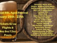 The Civic Hosts Barrel Aged Fest + Axe Throwing