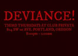 deviance feature