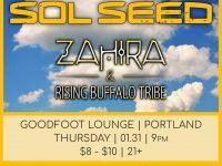 Sol Seed + Zahira & Rising Buffalo Tribe
