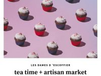 Les Dames Tea Time + Artisan Market Fundraiser