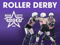 Rose City Rollers base banner