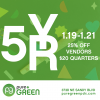 Pure Green-5yr-anniversary
