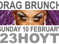 23H- DRAG BRUNCH FLYER