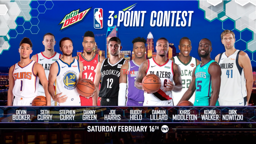 c4fac312699 Watch the NBA 3-Point Contest in Portland | Featuring Seth Curry & Damian  Lillard of the Trail Blazers