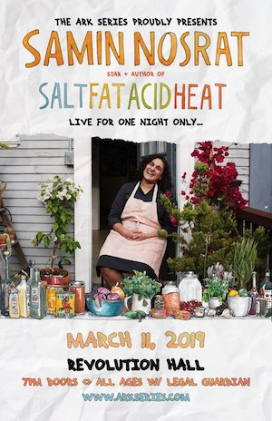 Samin Nosrat Presents Salt Fat Acid Heat Live @ Revolution Hall