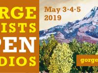 Gorge Artists Open Studios  banner