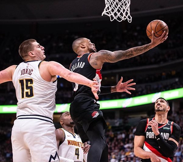 Portland Trail Blazers Playoff Schedule 2019: Trail Blazers Playoff Game 2 Vs Denver Nuggets + Where To