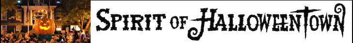 Halloweentown logo straight transparent
