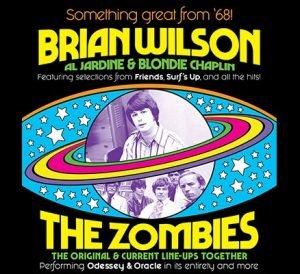 Win Tickets ($139): Brian Wilson & The Zombies @ Arlene