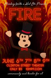fire 10MPF poster