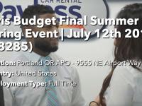 Avis Budget Hiring Event
