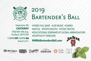 Win Tickets ($30): Bartenders Ball @ Castaway | 3 Full Bars