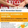 From These Hands - IRCO November Bazaar