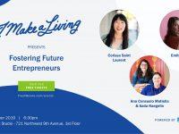 imakealiving fostering future entrepreneurs