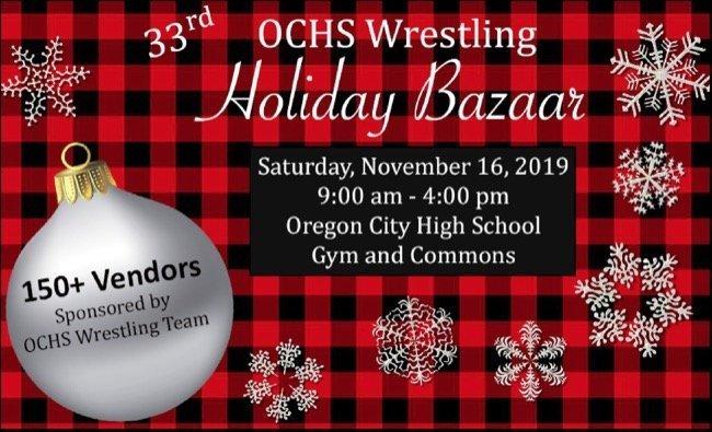 Portland Christmas Bazaar 2019.2019 Oregon City High School Wrestling Bazaar Portland