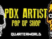 PDX Artist Pop Up Shop at QuarterWorld