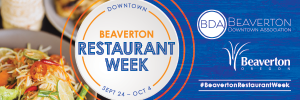 beaverton restaurant week banner