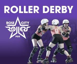 Banner for Roller Derby