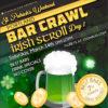 st patrick's day bar crawl 2020