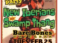 MARDI GRAS Dance Party With the New Iberians & Swamp Thang